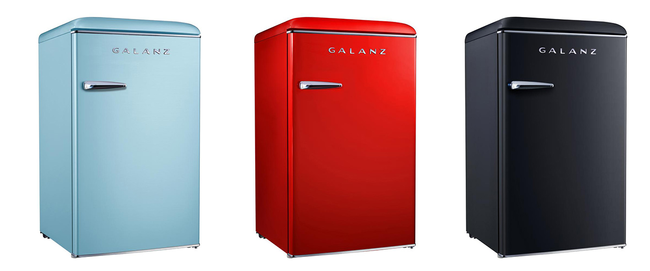 Galanz Retro Mini Fridge