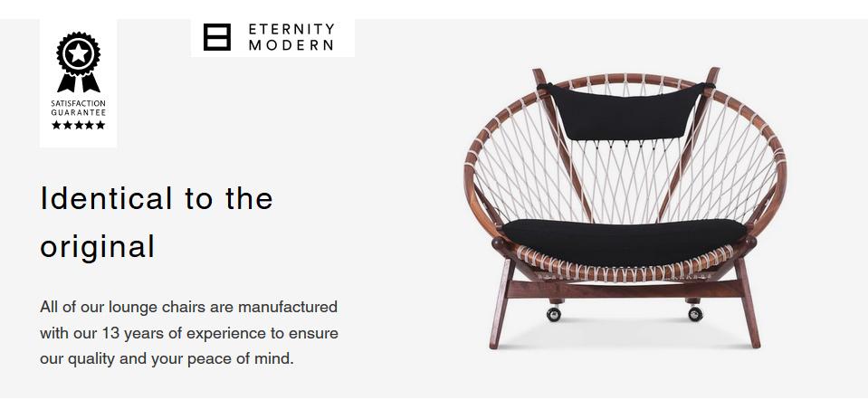 Eternity Modern Circle Chair Replica